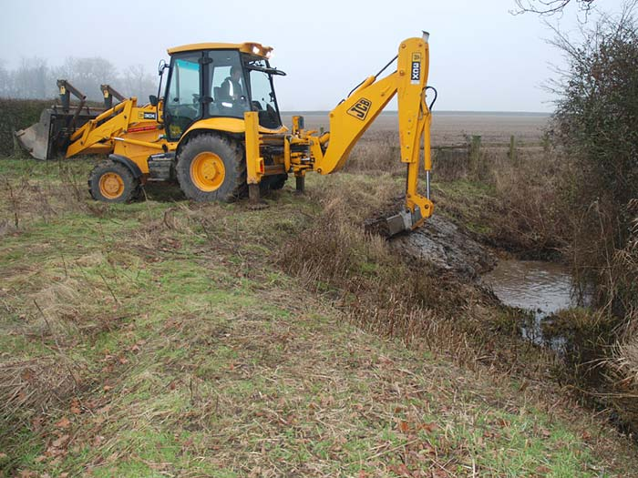 Ditch Clearance by Essex Farm Services